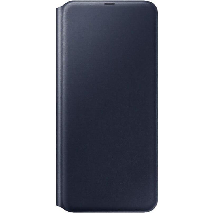 Fotografie Husa de protectie Samsung Wallet Cover pentru Galaxy A70 (2019), Black