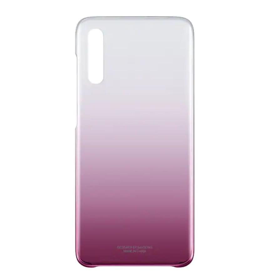 Fotografie Husa de protectie Samsung Gradation Cover pentru Galaxy A70 (2019), Pink