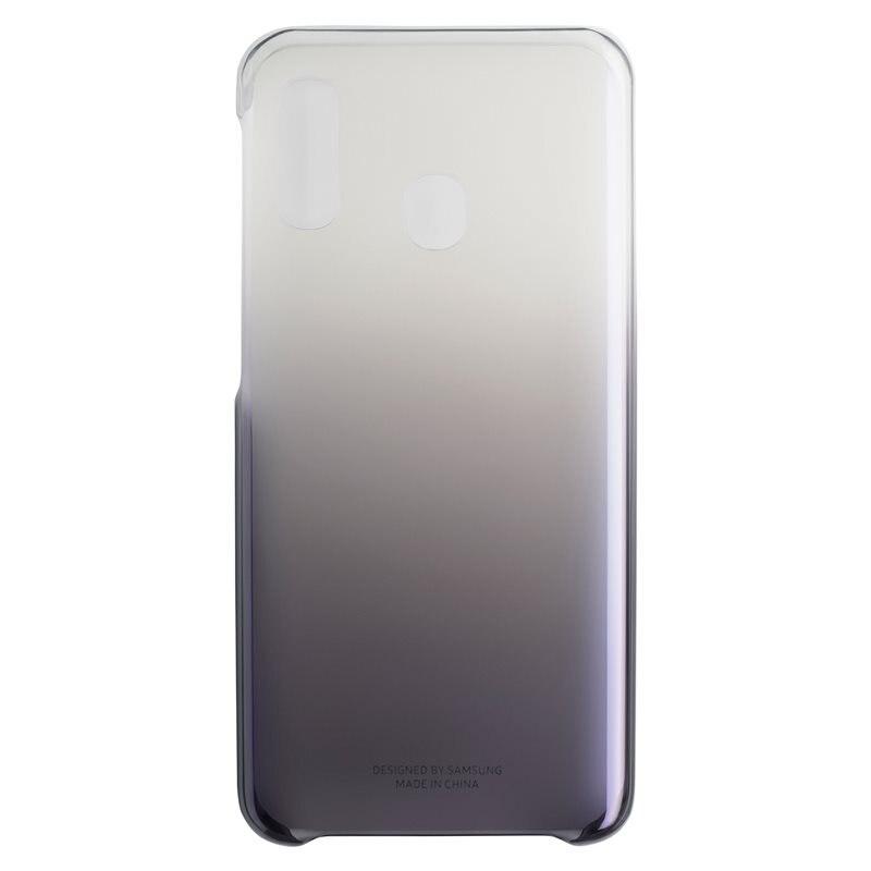 Fotografie Husa de protectie Samsung Gradation Cover pentru Galaxy A20e (2019), Black