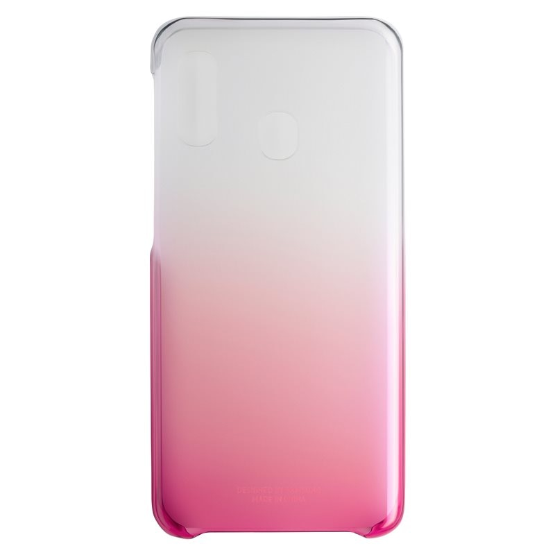 Fotografie Husa de protectie Samsung Gradation Cover pentru Galaxy A20e (2019), Pink