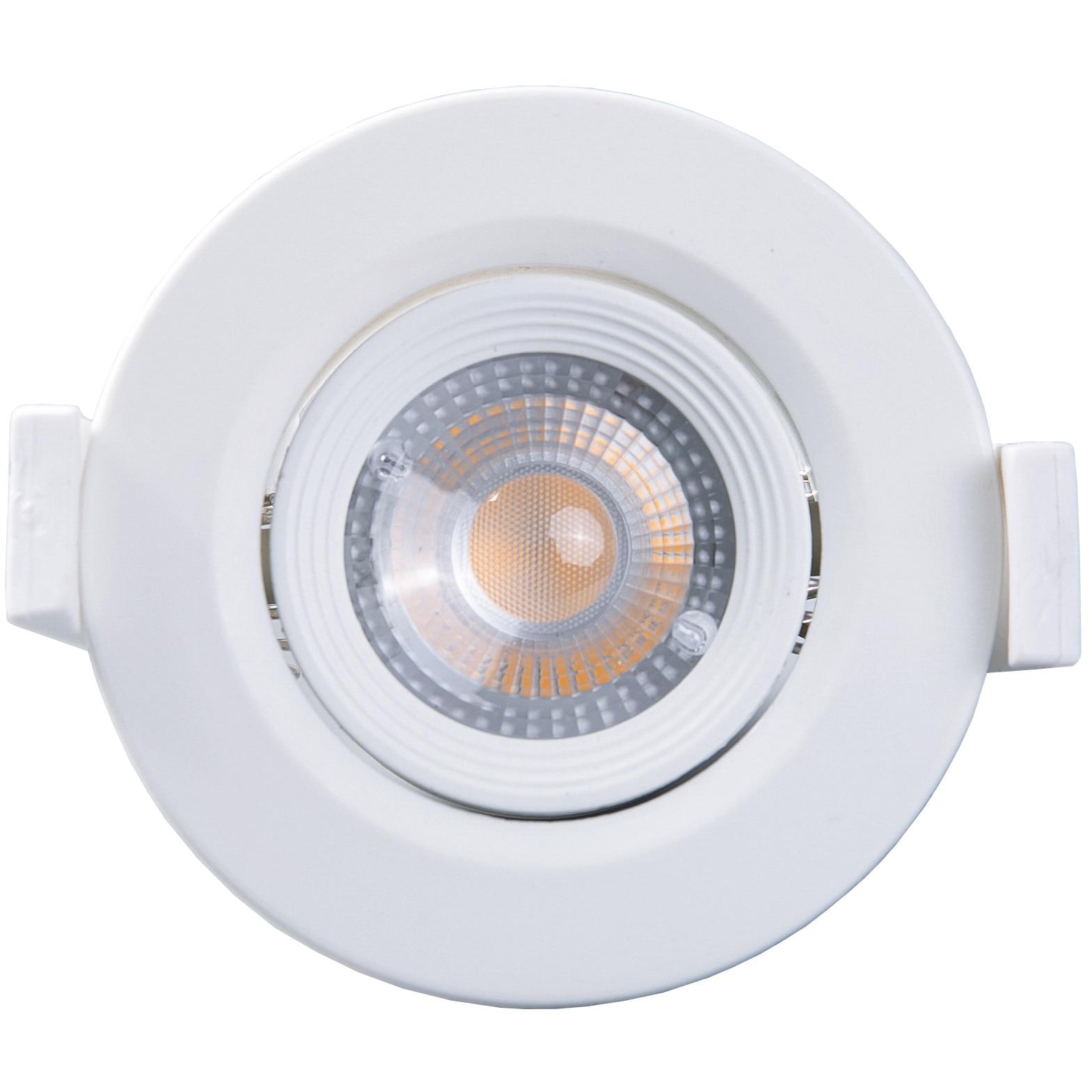 Fotografie Spot LED incastrabil Well Glamor, rotund, 3W, 240 lm, temperatura lumina 4000K, 60mm