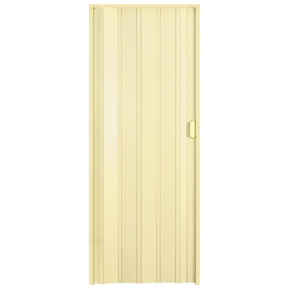 Fotografie Usa plianta PVC Italbox Aurora Large, deschidere stanga/dreapta, inchidere cu magnet, 85x203cm, Crem