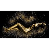 Картинa Canvas Жена, Мечта, Mногоцветен, 90 x 50 см