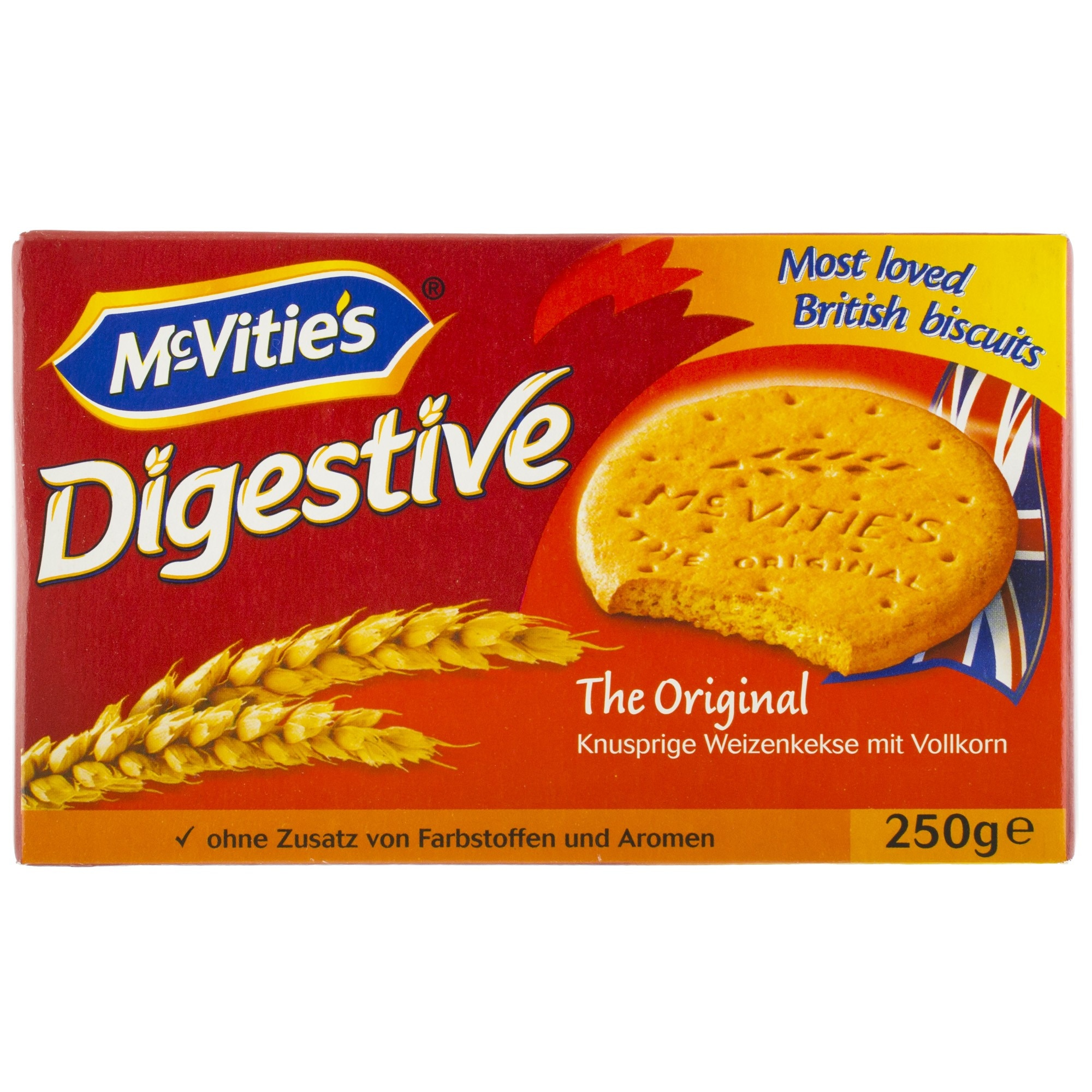 Calorii din McVitie's Digestive Biscuits - Sănătate -