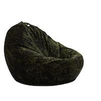 Пуф Pufrelax, тип круша Размер XL, Nirvana Grande - Army Camouflage, Гама Premium, Перящ се текстилен калъф, Пълнеж от полистиролни перли
