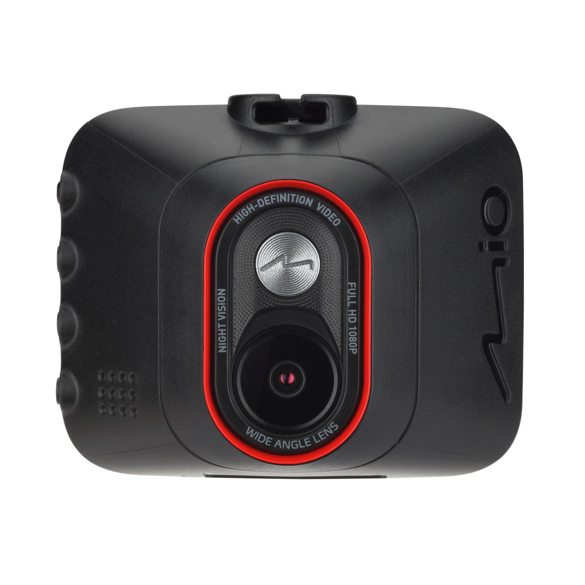 """Fotografie Camera auto DVR Mio MiVueC312, Full HD, ecran de 2"""", unghi de 130 grade, senzor G cu 3 axe, negru"""