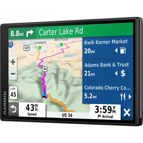 """Fotografie Sistem de navigatie Garmin DriveSmart 55 Full EU MT-S, GPS , ecran 5,5"""", Wi-Fi, bluetooth , navigare activata vocal"""