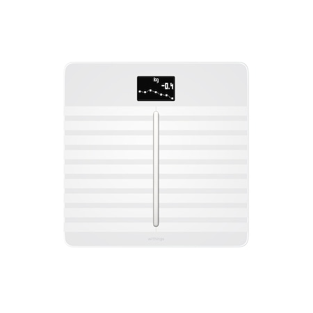 Withings Body Cardio Full Body Composition WBS04 személymérleg, Wi-fi, 180 Kg, Fehér