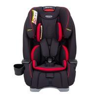 Столче за кола Graco Slimfit Fiery Red, 0-36 кг, Черно/Червено