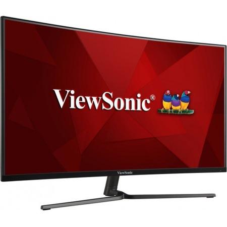 """Монитор ViewSonic VX3258-PC-MHD, 31.5"""" (80.01 cm) VA панел, Full HD, 1ms, 80000000:1, 250 cd/m2, HDMI, DisplayPort"""