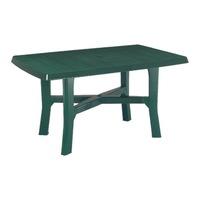Градинска маса Мебели Богдан - Senator, 180/100/72h, за 8 човека, зелена