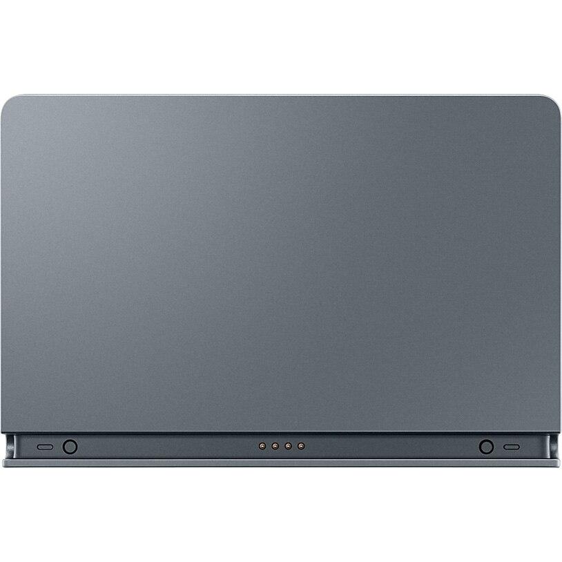 Fotografie Stand de incarcare Samsung Pogo pentru Galaxy Tab S5e / Tab S6, Incarcator inclus, Silver