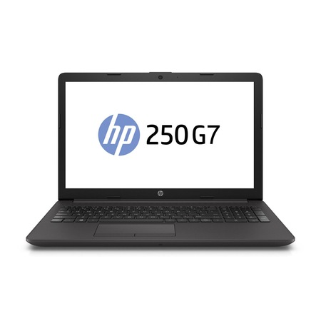 Лаптоп HP 250 G7 с Intel Core i3-1005G1 (1.2/3.4 GHz, 4M), 8 GB, 512GB M.2 NVMe SSD, NVIDIA GeForce MX110 - 2 GB GDDR5, Windows 10 Pro 64-bit, графитеночерен