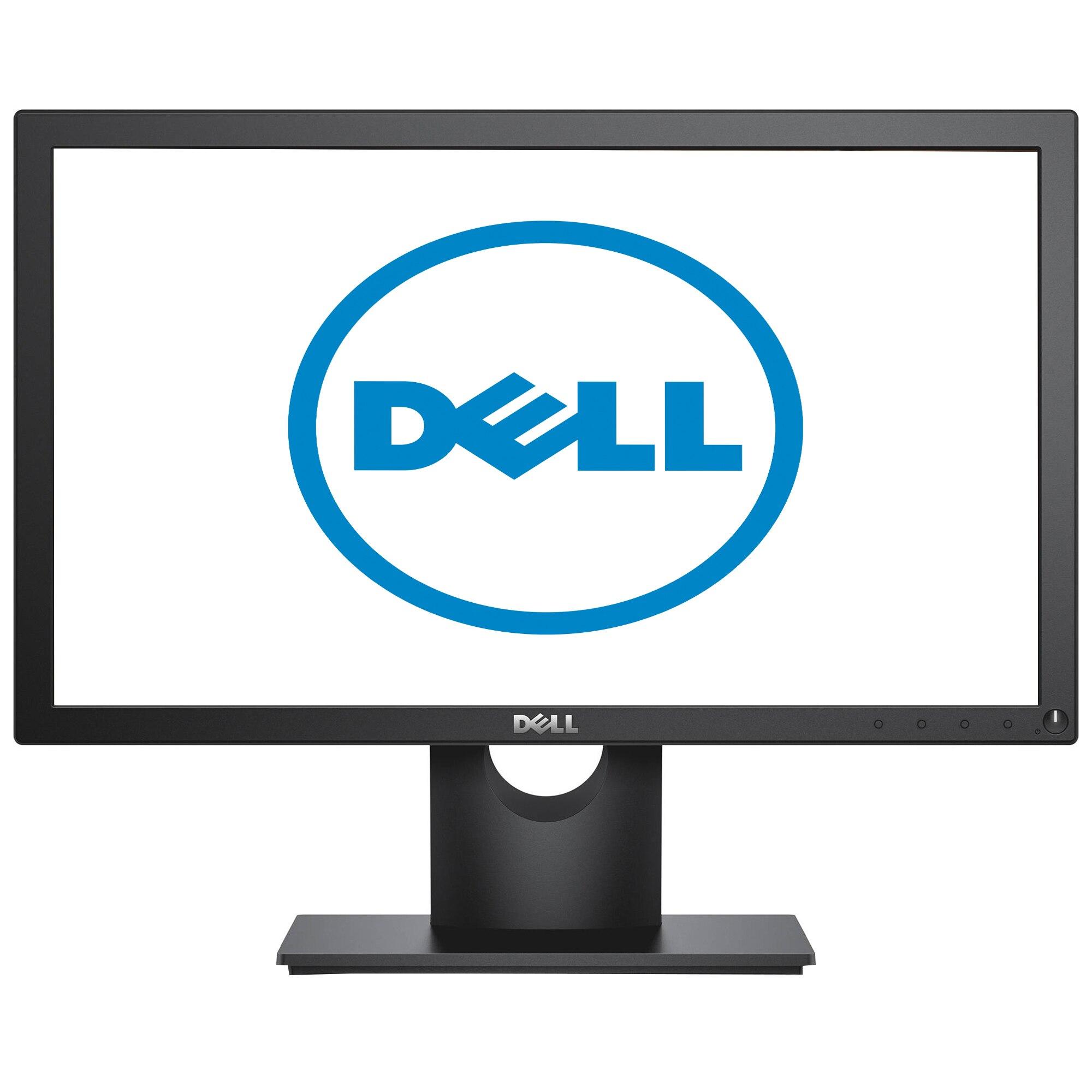 "Fotografie Monitor LED Dell 18.5"", Wide, HD, Negru, E1916HV"