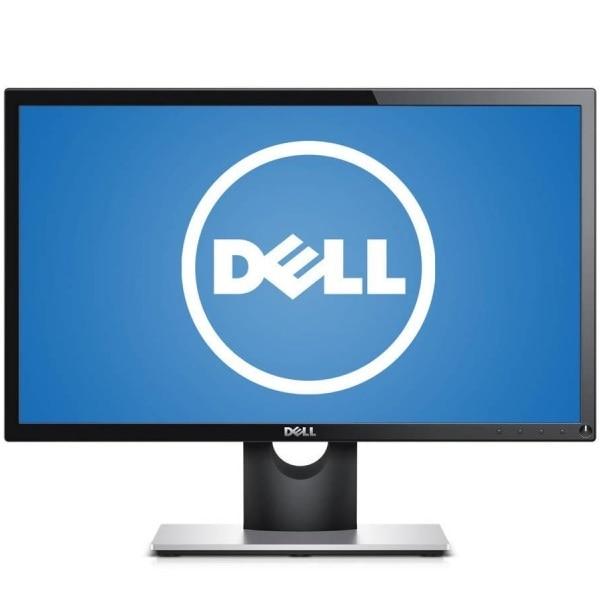 """Fotografie Monitor LED VA Dell 21.5"""", Wide, FHD, HDMI, Antiglare, SE2216H, Negru"""