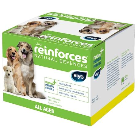 Хранителна добавка за кучета Viyo Reinforces, 7x30мл