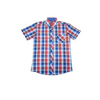 Camasa maneca scurta baieti Jankes JKS18-R, Multicolor