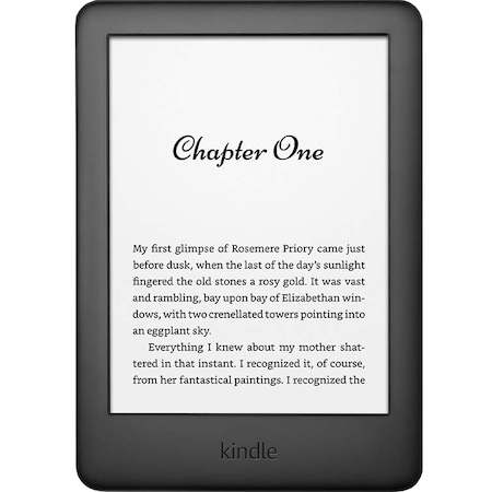 eBook четец Kindle 2019, WiFi, 8 GB, 167 ppi, Черен