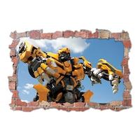 3D Dekorációs falmatrica, Bumblebee, 60x90cm
