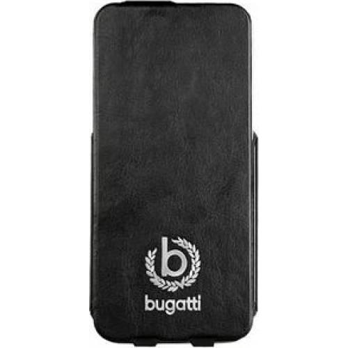 Fotografie Husa de protectie Bugatti Geneva pentru iPhone 5/5S/SE, Negru