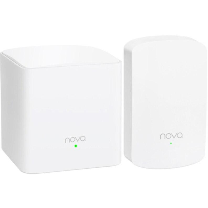 Fotografie Router Wireless Tenda Nova MW5, Gigabit, Dual Band, 1200 Mbps, 2 Pack