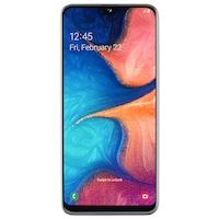 Samsung Galaxy A20e Mobiltelefon, Kártyafüggetlen, Dual SIM, 32GB, LTE, Fehér