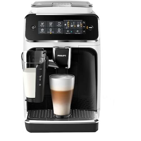 Кафеавтомат Philips EP3243/50 LatteGo, 15 bar, 1500 W, Автоматично капучино, Кана за мляко, Керамични мелачки, Филтър AquaClean, Сензорен екран