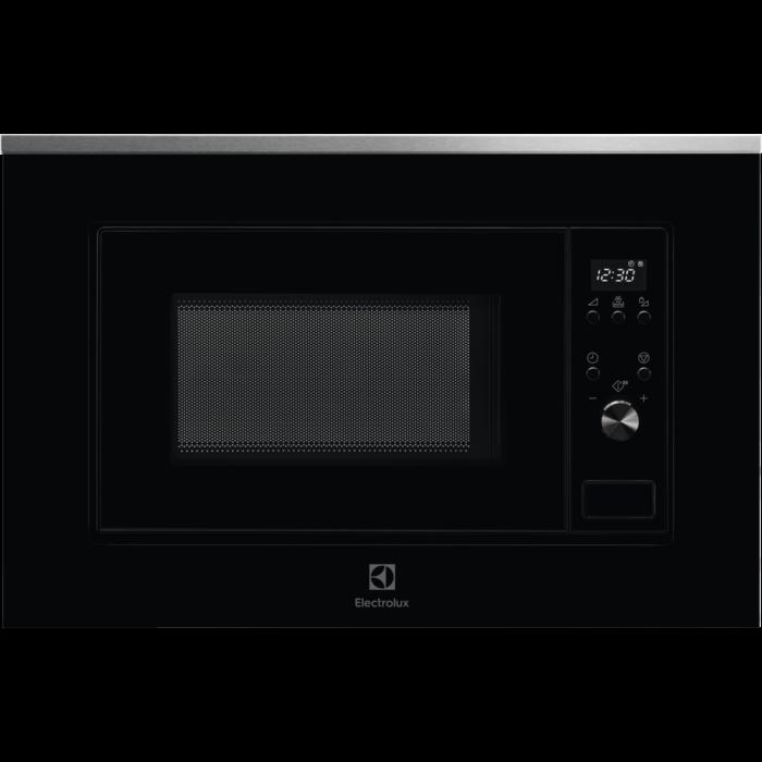 Fotografie Cuptor cu microunde incorporabil Electrolux LMS2203EMX, 20 l, 700 W, Avertizare sonora, Afisaj LED, Negru