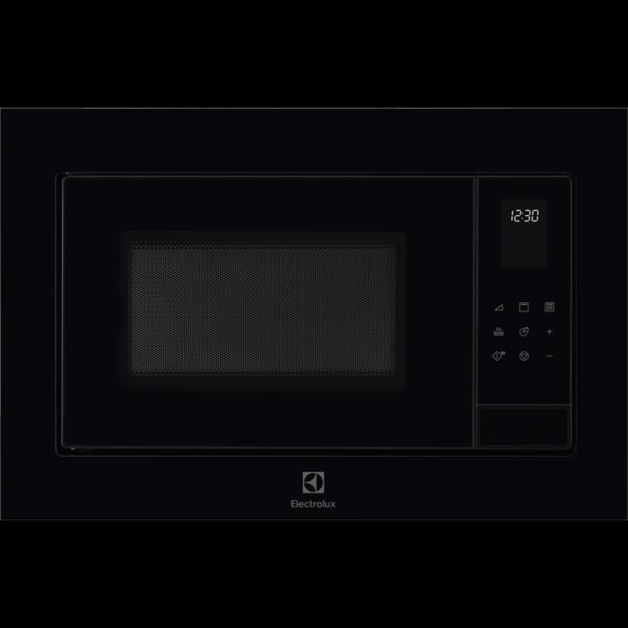 Fotografie Cuptor cu microunde incorporabil Electrolux LMS4253TMK, 25 l, 900 W, Gril, Timer, Avertizare sonora, Afisaj LED, Negru