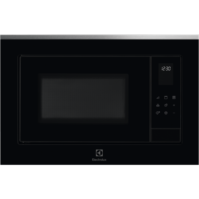Fotografie Cuptor cu microunde incorporabil Electrolux LMS4253TMX, 25 l, 900 W, Gril, Timer, Avertizare sonora, Afisaj LED, Negru