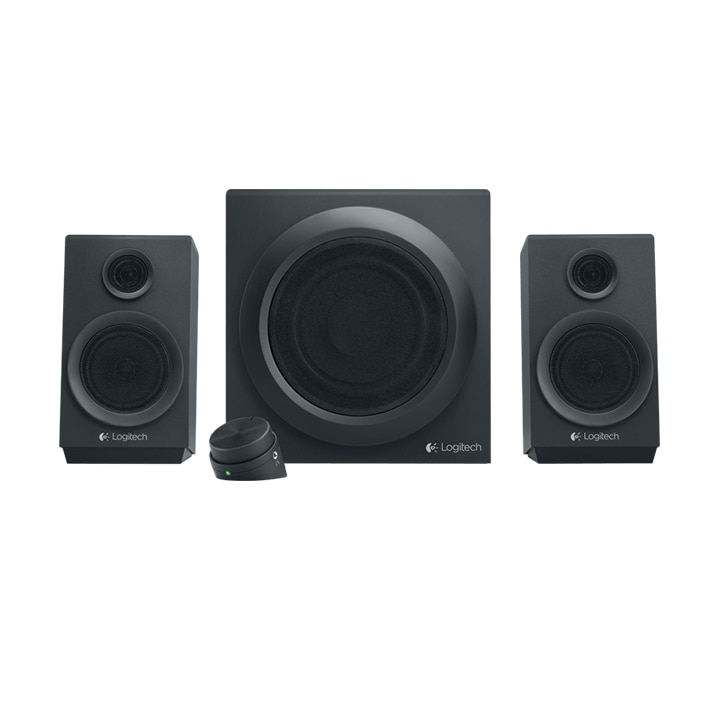 Fotografie Boxe 2.1 Logitech Multimedia Speakers Z333, 40W RMS, Negru