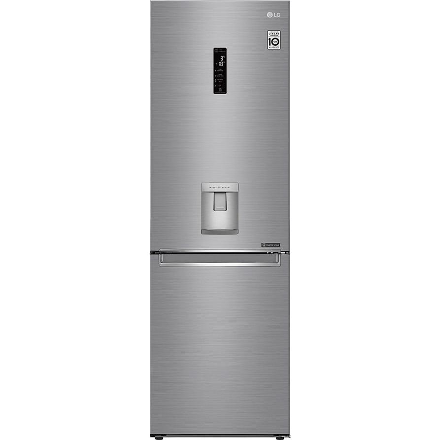 Fotografie Combina frigorifica LG GBF71PZDZN, 337 l, Full NoFrost, Compresor Inverter Linear, Display Extern, WiFi, H 186, Clasa A++, Argintiu