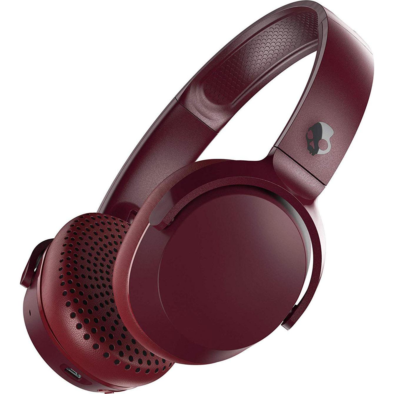 Fotografie Casti Audio On-Ear Skullcandy Riff, Bluetooth, Moab Red Black