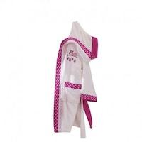 Детски халат за баня Ecocotton Little bird, Кремав, 9г- 10г
