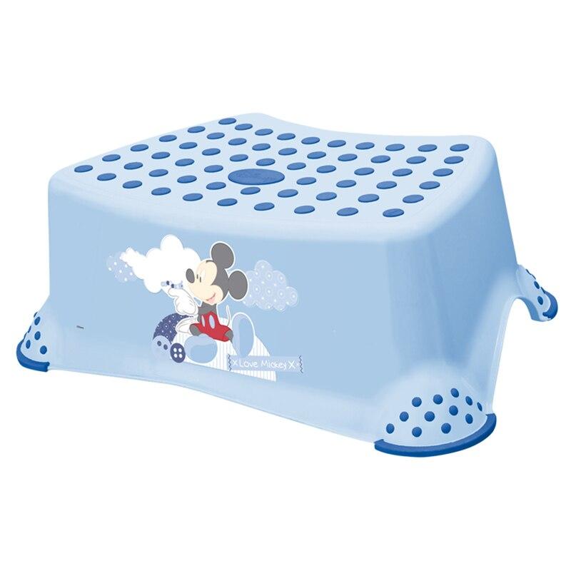 Fotografie Inaltator baie Disney, antiderapant, 40,5 x 29 x 14 cm, Mickey Mouse Light Blue, Bleu