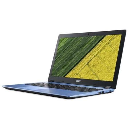 "Лаптоп Acer Aspire 3, A315-32-P4P3, Intel Pentium N5000 Quad-Core (up to 2.70GHz, 4MB), 15.6"" FullHD (1920x1080) Anti-Glare, HD Cam, 4GB DDR4, 128GB SSD M.2, Intel UHD Graphics 605, BT 4.1, Linux, Blue"