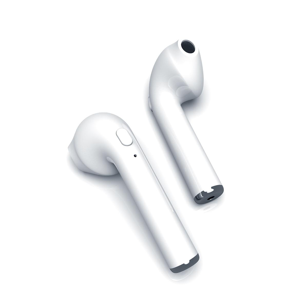 Hellosmart i7s Air bluetooth 4.2 headset + töltőtok (fehér) V3Y7wv