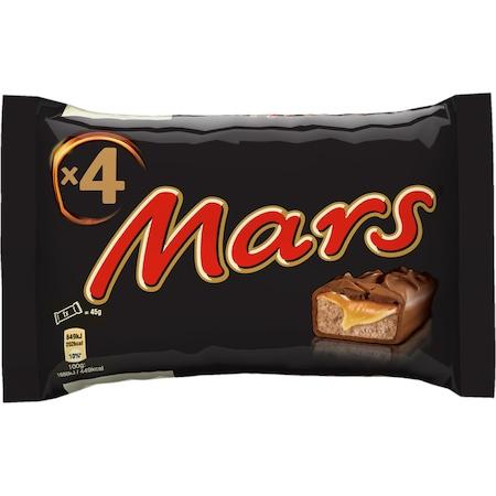 Batoane de ciocolata cu lapte, caramel si nuga 4x45g Mars