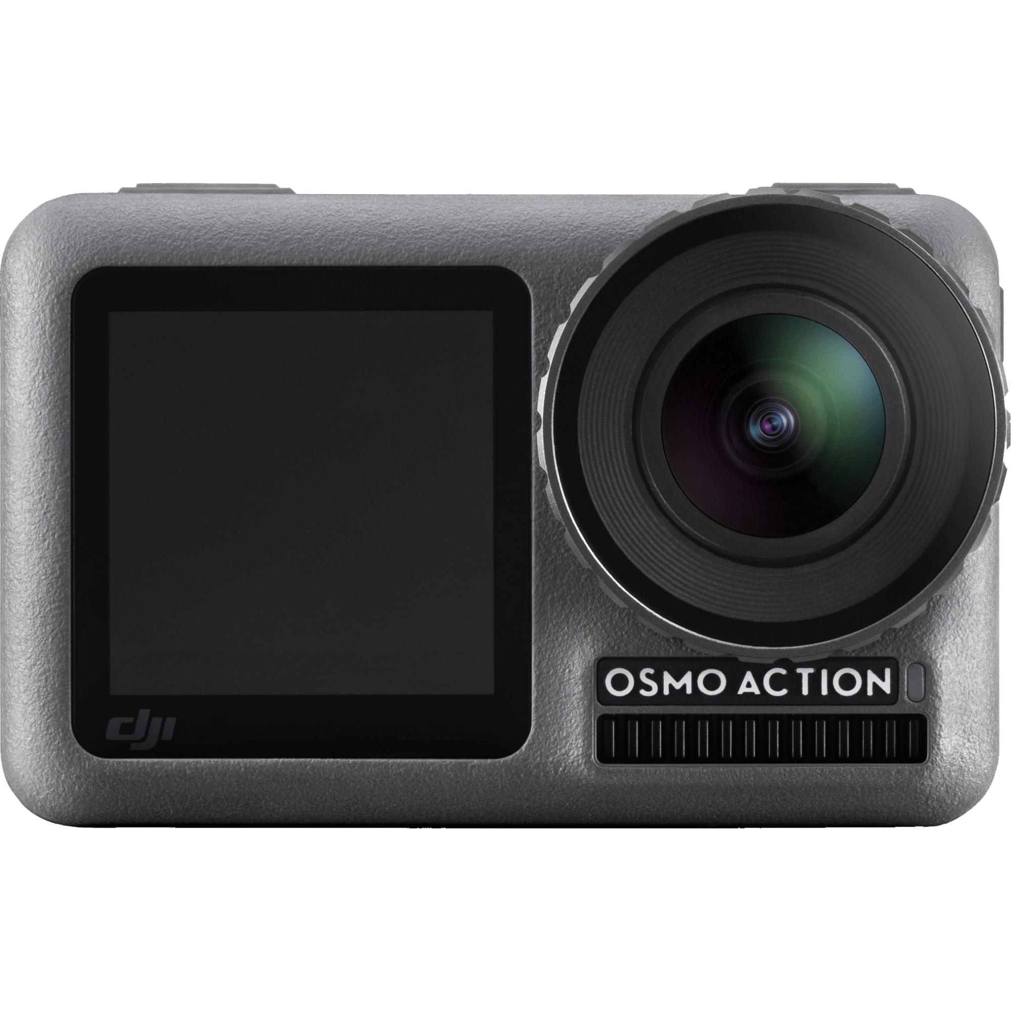 Fotografie Camera video sport DJI Osmo Action, 4K, Negru