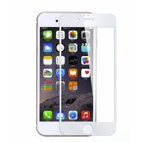 5D Стъклен протектор, Smart Glass Gorilla Full Cover за Iphone 6/6S, Бял