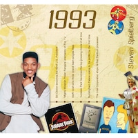 CD картичка с хитове от 1993 година