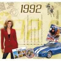 CD картичка с хитове от 1992 година