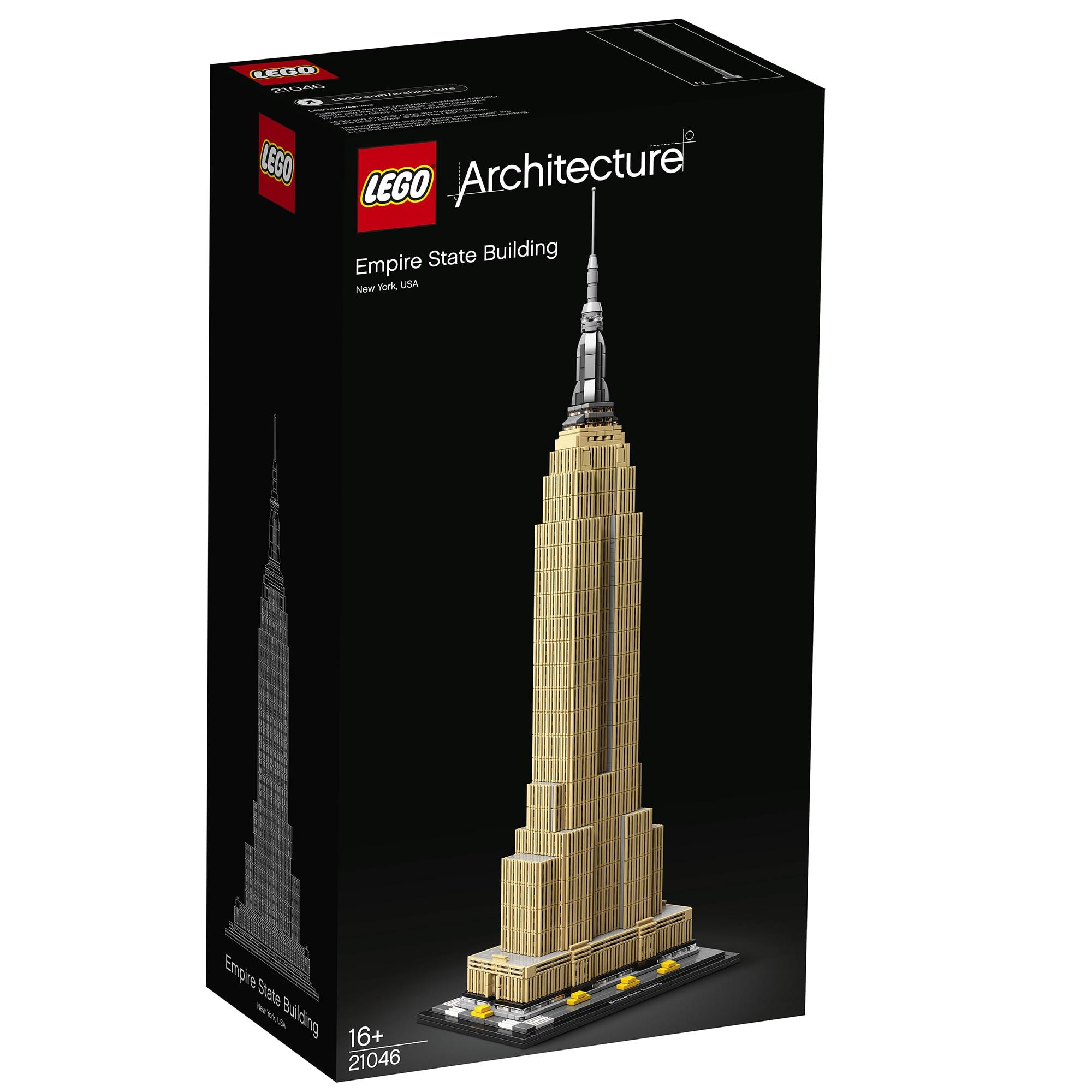 Fotografie LEGO Architecture - Empire State Building 21046, 1767 piese