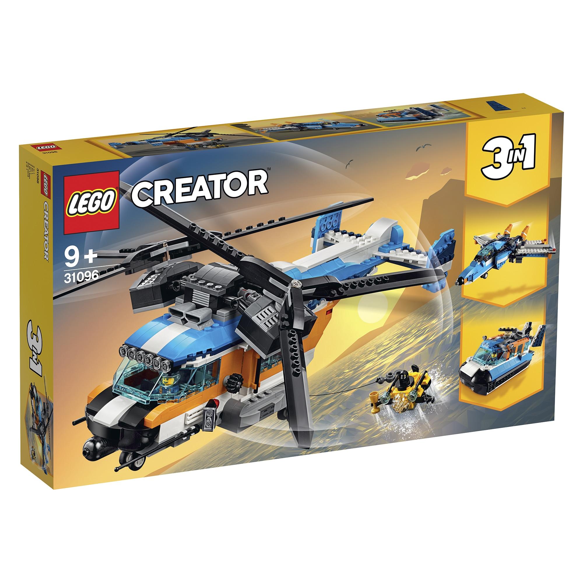 Fotografie LEGO Creator - Elicopter cu rotor dublu 31096
