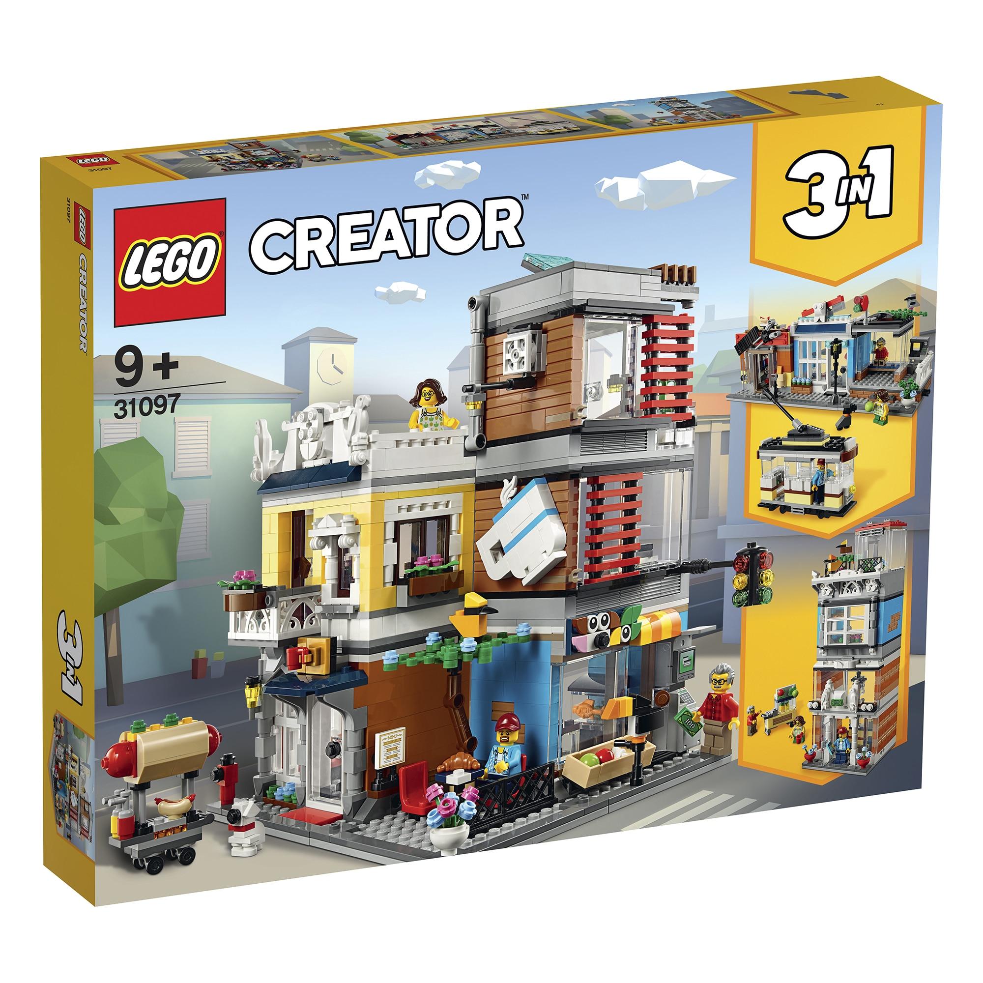 Fotografie LEGO Creator - Magazin de animale si cafenea 31097