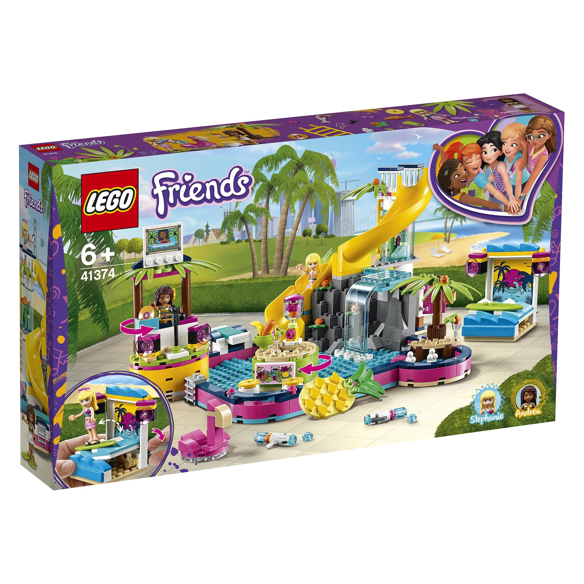 Fotografie LEGO Friends - Petrecerea la piscina a Andreei 41374