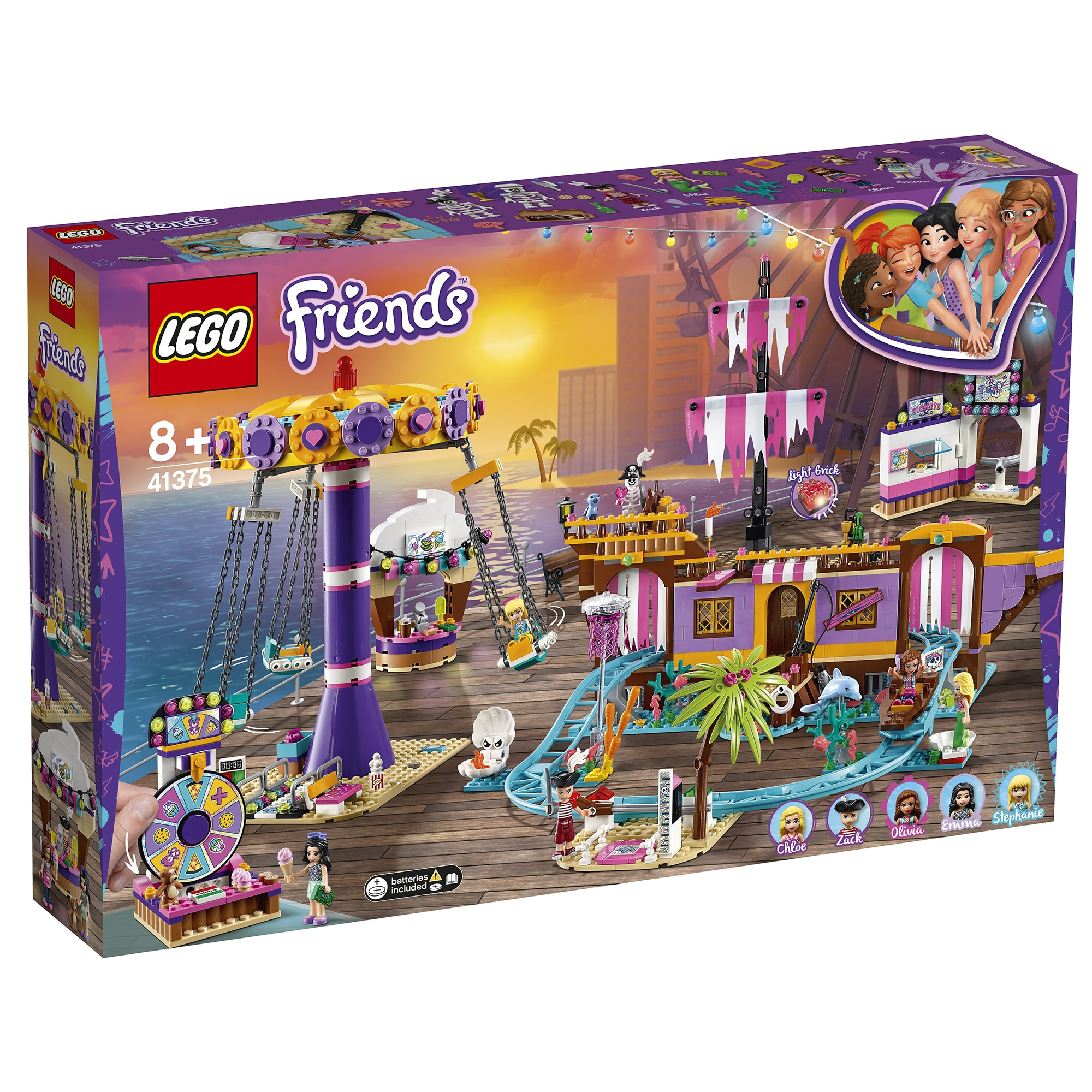 Fotografie LEGO Friends - Debarcaderul cu distractii din Heartlake City! 41375