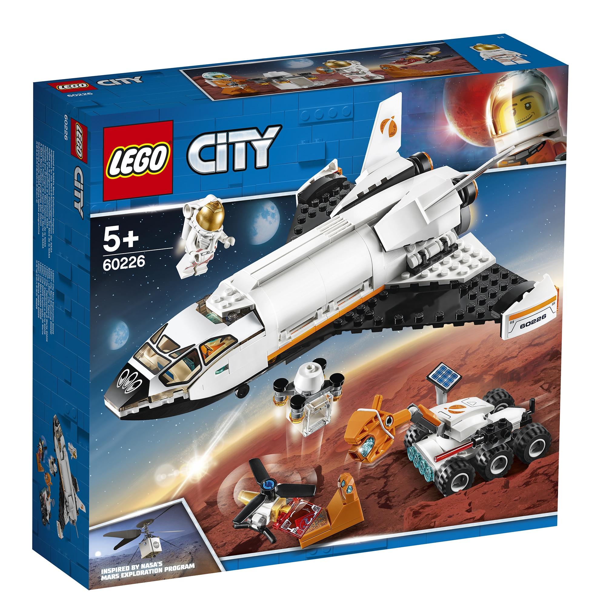 Fotografie LEGO City Space Port - Naveta de cercetare a planetei Marte 60226, 273 piese