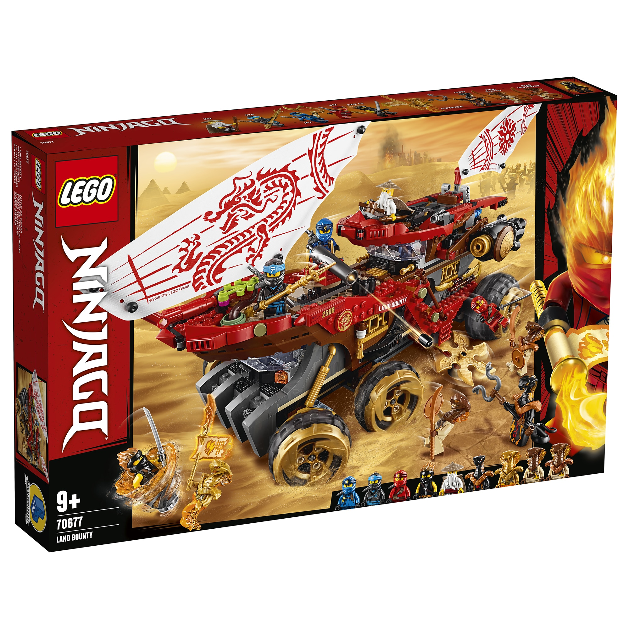 Fotografie LEGO NINJAGO - Bounty de teren 70677