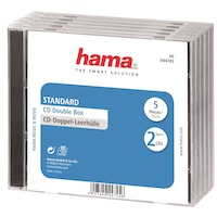 Hama dupla CD tok, 5 db